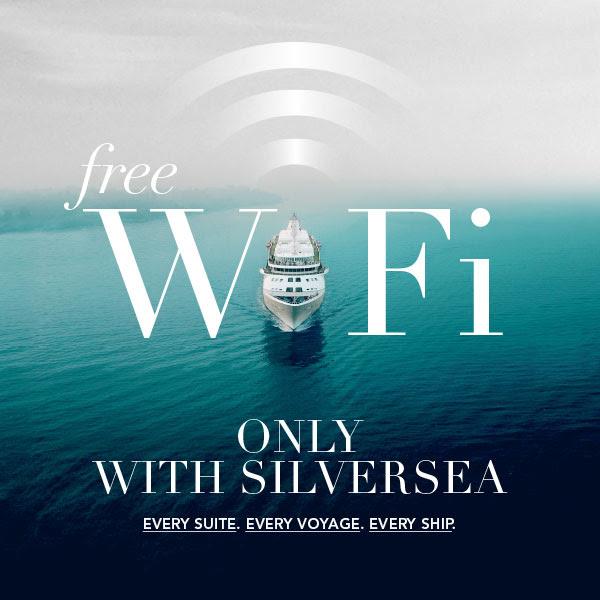Silversea Cruises - Free wifi on cruise ships